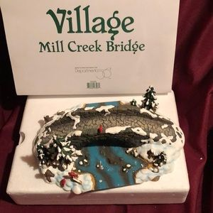 Department 56 Mill Creek Bridge
